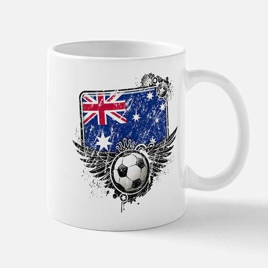 Soccer Fan Australia Mug