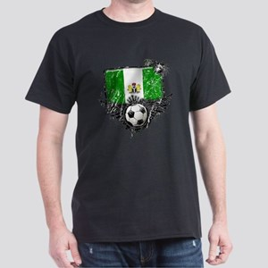 Soccer Fan Nigeria Dark T-Shirt