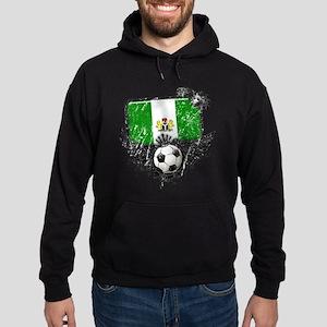 Soccer Fan Nigeria Hoodie (dark)