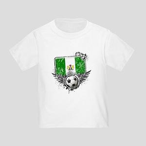 Soccer Fan Nigeria Toddler T-Shirt