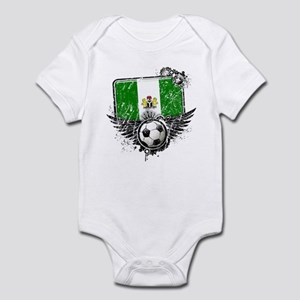 Soccer Fan Nigeria Infant Bodysuit