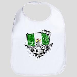 Soccer Fan Nigeria Bib