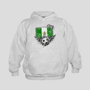 Soccer Fan Nigeria Kids Hoodie