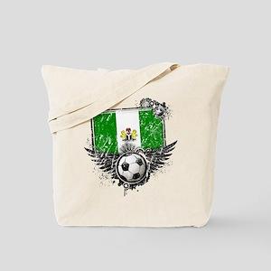 Soccer Fan Nigeria Tote Bag