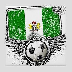 Soccer Fan Nigeria Tile Coaster
