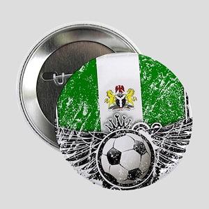 """Soccer Fan Nigeria 2.25"""" Button"""