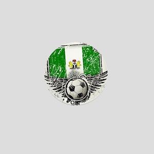 Soccer Fan Nigeria Mini Button