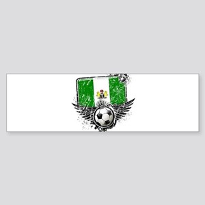 Soccer Fan Nigeria Sticker (Bumper)
