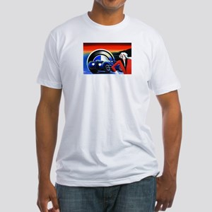 Race Car Fitted T-Shirt