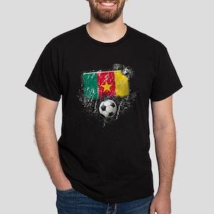 Soccer Fan Cameroon Dark T-Shirt