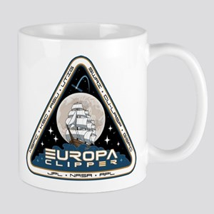 Europa Clipper Logo 11 Oz Ceramic Mug Mugs