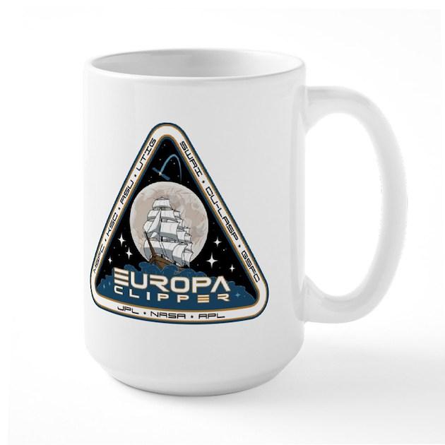 Europa Clipper Logo Mugmugs By Quatrosales