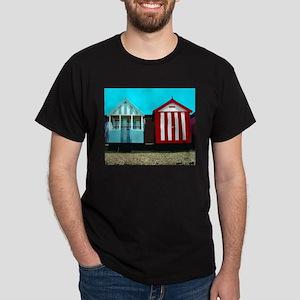 Beach Hut 1 Black T-Shirt