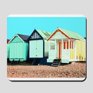 Beach Hut 3 Mousepad