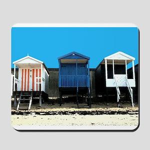 Beach Hut 4 Mousepad