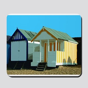 Beach Hut 5 Mousepad