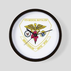 4th Medical Battalion Wall Clock