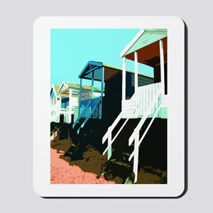 Beach Hut 8 Mousepad