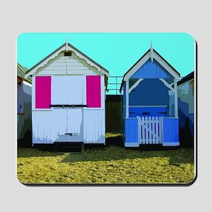 Beach Hut 10 Mousepad