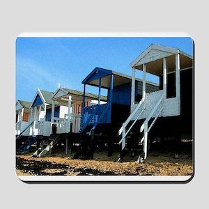 Beach Hut 11 Mousepad