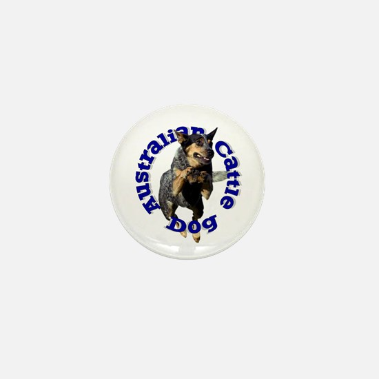 Cattle Dog House Mini Button