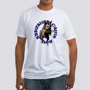 Cattle Dog House Fitted T-Shirt