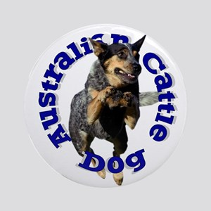 Cattle Dog House Ornament (Round)