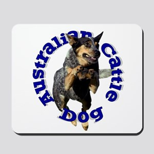 Cattle Dog House Mousepad