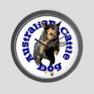 Cattle Dog House Wall Clock