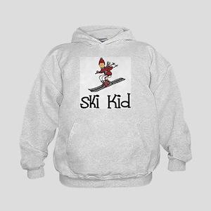 Ski Kid Christopher Kids Hoodie