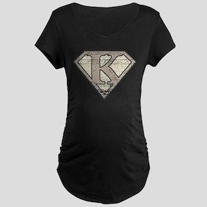 Super Vintage K Logo Maternity Dark T-Shirt