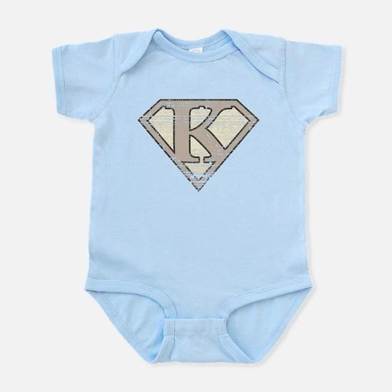 Super Vintage K Logo Infant Bodysuit