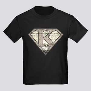 Super Vintage K Logo Kids Dark T-Shirt