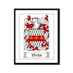 Wicks Framed Panel Print