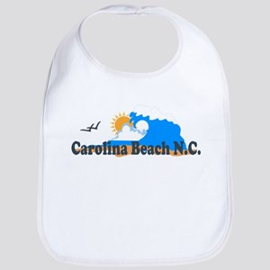 Carolina Beach NC - Waves Design Bib