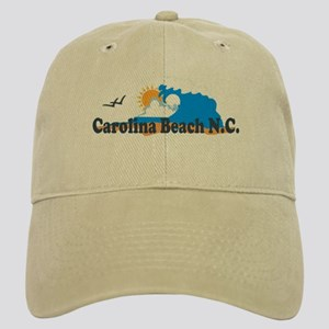 Carolina Beach NC - Waves Design Cap