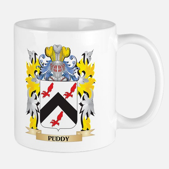 Puddy Family Crest - Coat of Arms Mugs