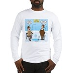When Stupid People Go Ice Fish Long Sleeve T-Shirt