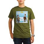 When Stupid People Go Organic Men's T-Shirt (dark)
