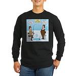 When Stupid People Go Ice Long Sleeve Dark T-Shirt