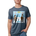 When Stupid People Go Ice F Mens Tri-blend T-Shirt