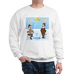 When Stupid People Go Ice Fishing Sweatshirt