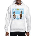 When Stupid People Go Ice Fishin Hooded Sweatshirt