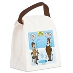 When Stupid People Go Ice Fishing Canvas Lunch Bag