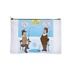 When Stupid People Go Ice Fishing Makeup Bag