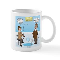 When Stupid People Go Ice Fishin Mug