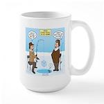 When Stupid People Go Ice 15 oz Ceramic Large Mug