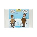 When Stupid People Go I Rectangle Magnet (10 pack)