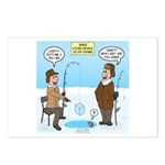 When Stupid People Go Ice Postcards (Package of 8)