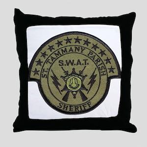 St. Tammany Parish Sheriff SW Throw Pillow